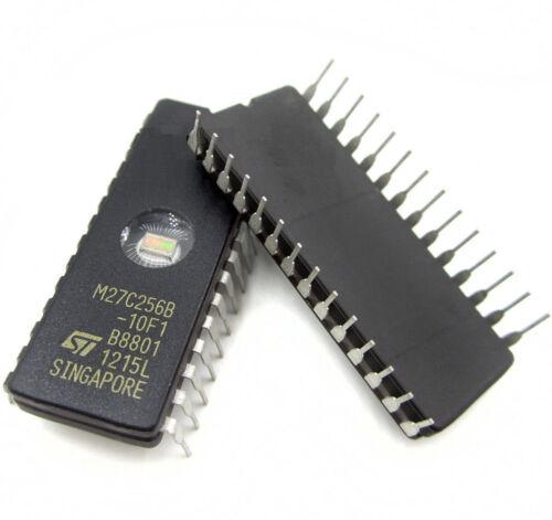 EPROM 27C256-100 32Kx8 100ns M27C256B-10F1 CMOS von STM DIC28