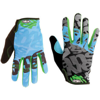 Answer Clash Full Finger Glove Black//Gray Medium