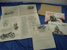 Original Velocette Factory Sales Brochure 1952 Packet, MAC & LE, Excellent! VE10