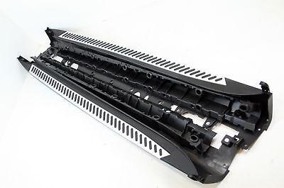Bmw X5 F15 2014-on Abs Side Steps Bars Running Boards Black Silver Accessories Om Hinder Uit De Weg Te Ruimen En De Dorst Te Lessen