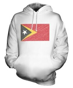 Bandiera Regalo Felpa Timor E Idea Unisex East Lorosa' Maglia Scarabocchiato Px1EwPqa