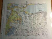 Find Fra I Diverse Samlinger Og Objekter Landkort Sydsjaelland