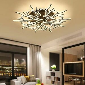 Details about Luxury Modern Led Ceiling Lights For Living Room Master  Bedroom Fixtures Lamps