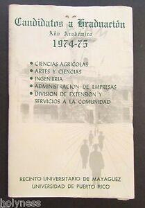vintage program candidatos a graduacion upr mayaguez puerto rico