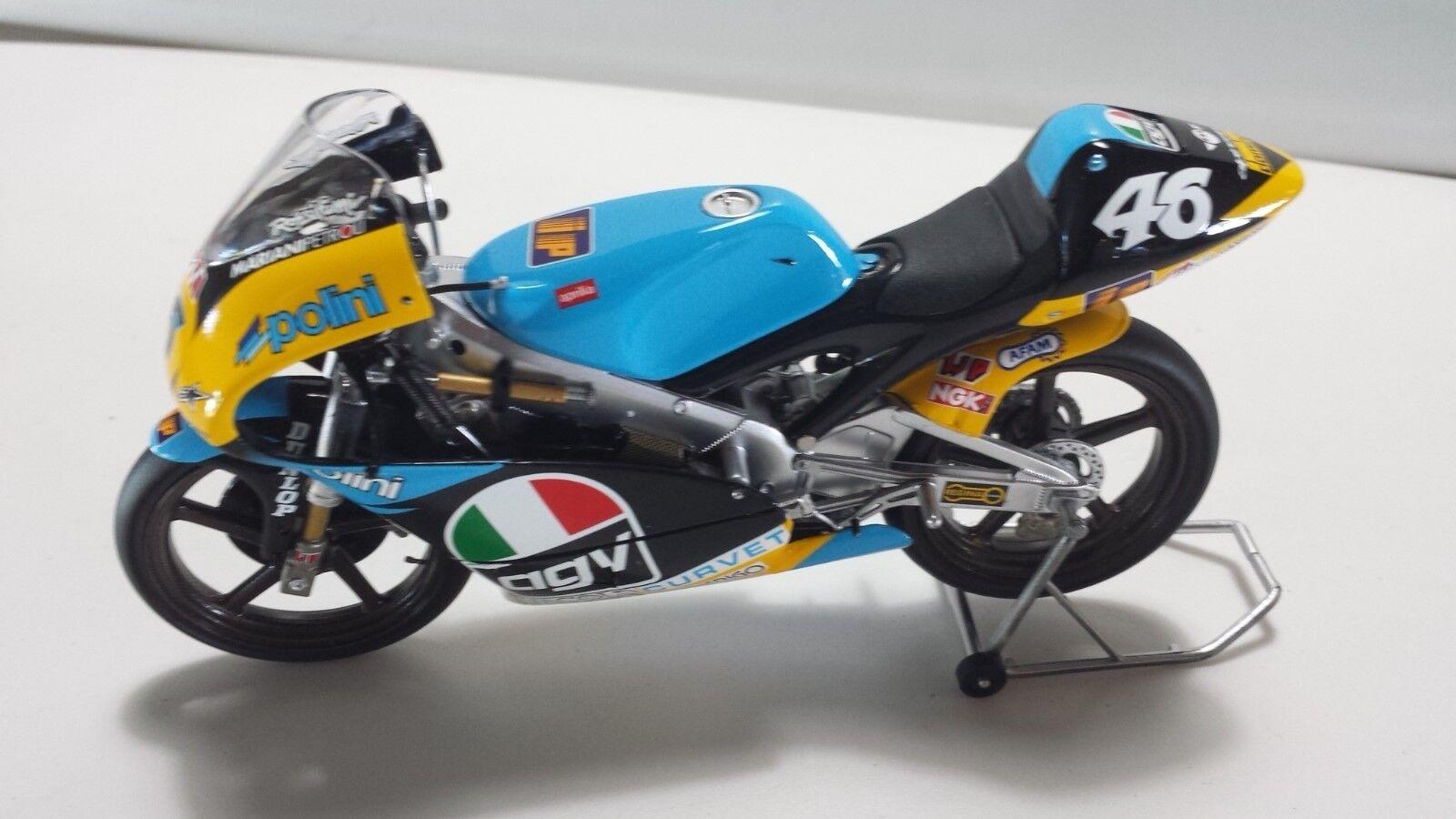 Felices compras Valentino Rossi. APRILIA 125cc. GP 2018 MINICHAMPS 1/12 1/12 1/12  marcas de moda