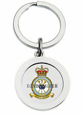 BAND OF THE ROYAL AIR FORCE REGIMENT KEY RING (METAL)