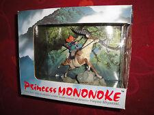 Princess Mononoke Hime Ashitaka & Yakule Figure Statue by Cominica Miyazaki