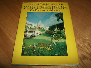 CLOUGH-WILLIAMS-ELLIS-PORTMEIRION-PLACE-amp-MEANING-SIGNED-1ST-1963-VG-VERY-RARE