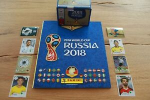 Panini-coupe-du-monde-world-cup-2018-RUSSIE-Sticker-Selectionner-Choisir-De-682