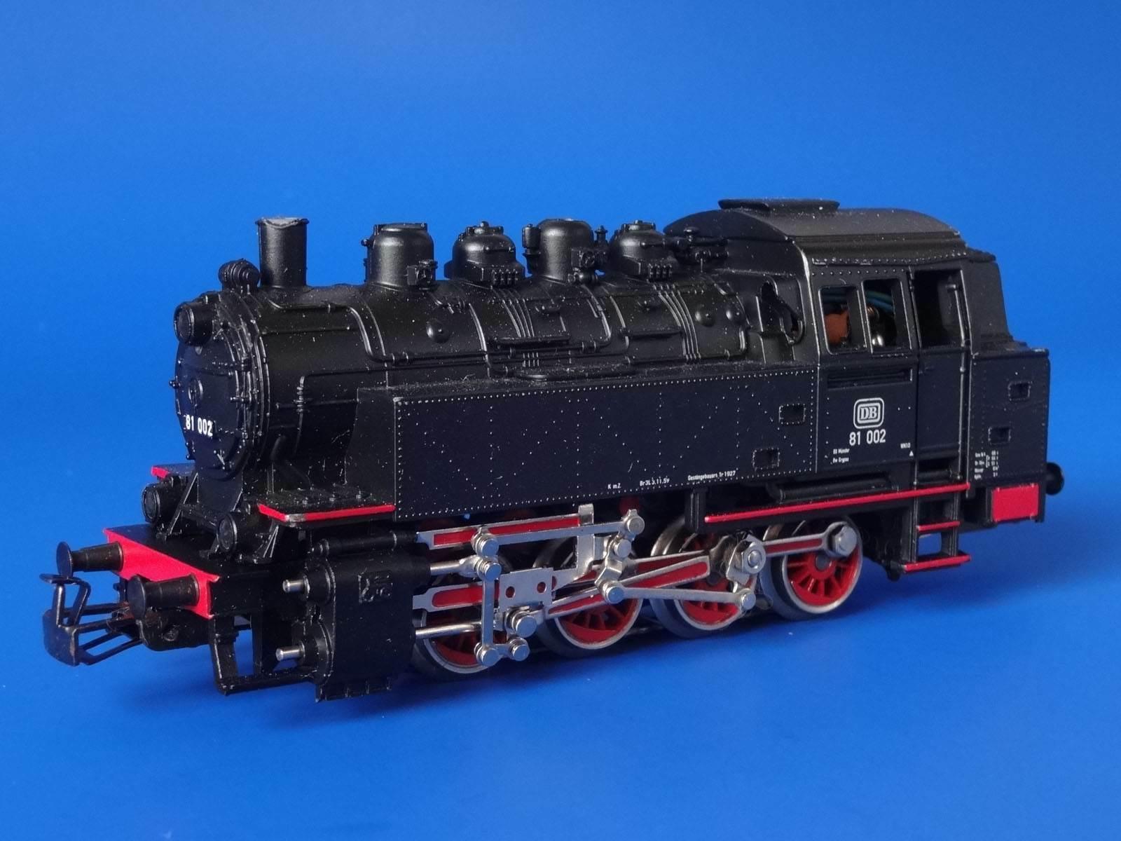 MARKLIN H0  29185  Ssquadra Locomotive BR 81 002  DELTA  LN
