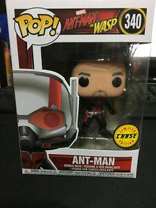 Funko-Pop-Marvel-Hombre-Hormiga-la-avispa-Ant-Man-340-Chase