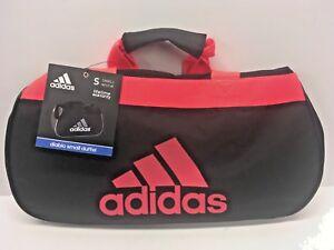 NEW - Adidas Diablo Small Duffel Bag Neon Black Pink Sport Gym ... b7b8ca869d2f7