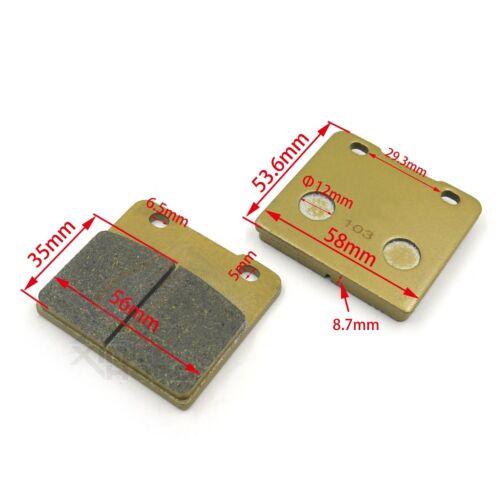 New Golden Disc Brake Pad Set For Suzuki VS800GL S50 05-09 VS1400GLP S83 05-10