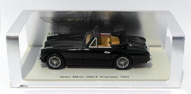 Funke, maßstab 1  43 - s0582 1953 aston martin db2   4 drophead - dunkelgrün