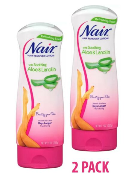Nair Hair Remover Lotion Aloe Lanolin 9oz For Sale Online Ebay
