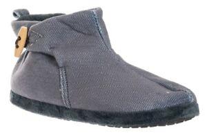 Dettagli su DE FONSECA stivaletti, pantofole invernali uomo mod.TRENTO M400 GRIGIO slippers