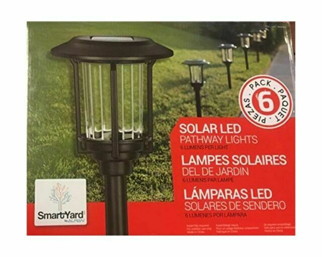 Sams Member S Mark Alpan 6 Pack Solar Led Lights For Sale Online Ebay