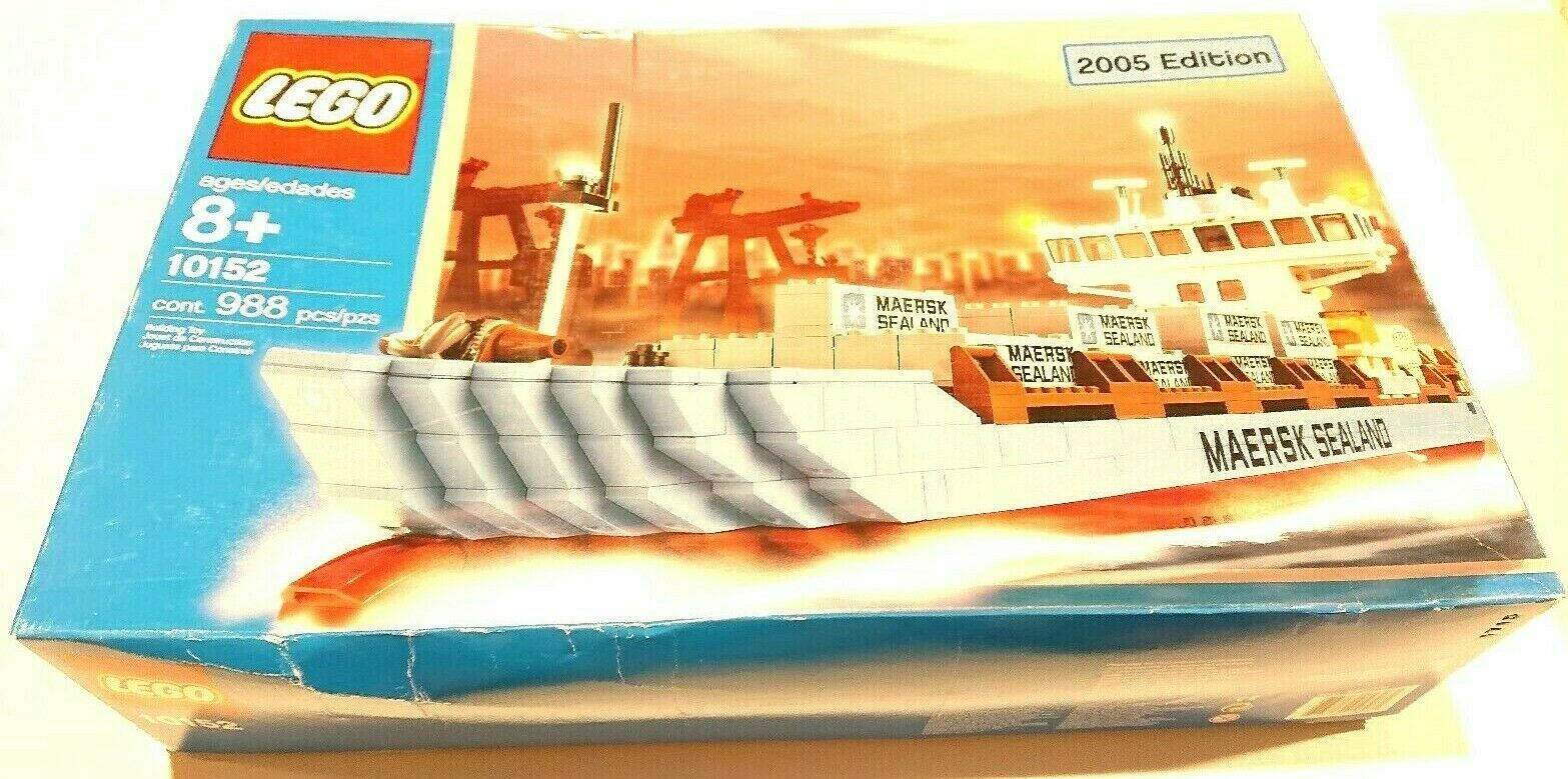 10152 Open Lego Container In BoxNew Shipbrand Line Maersk 8nPkwO0