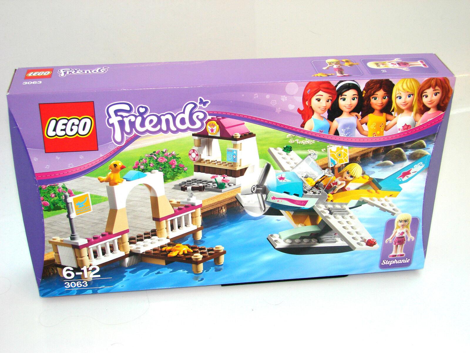 LEGO® Friends 3063 Flugschule mit Wasserflugzeug Neu OVP_ Flying Club NEW MISB