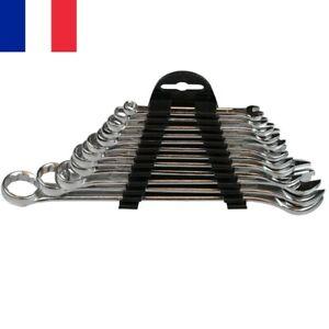 Set-de-12-Cles-Plates-Mixtes-a-Oeil-Plate-6-a-22-mm-Jeu-Complet