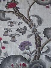 "William Yeoward Curtain Fabric residuo ""Marlena"" 70 x 145 cm Misto Lino"
