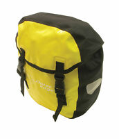 Brand Outer Edge Bike Cycle Yellow Waterproof Side Pannier Bag Oba528