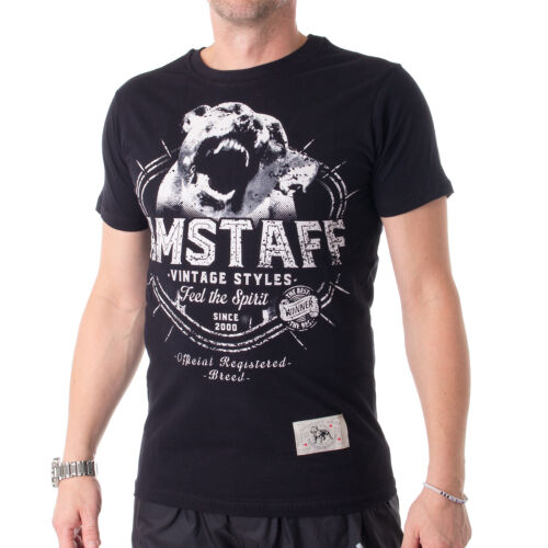 32584 bordeaux Amstaff Neres T-Shirt Herren Shirt Farbe schwarz