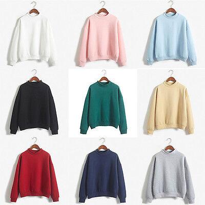 Women Casual Long Sleeve Hoodie Sweatshirt Jumper Pullover Tops Shirt Coat S-XXL