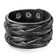 ECHT LEDERARMBAND-BREIT Surferarmband !Bracelet Leather Armband Herren