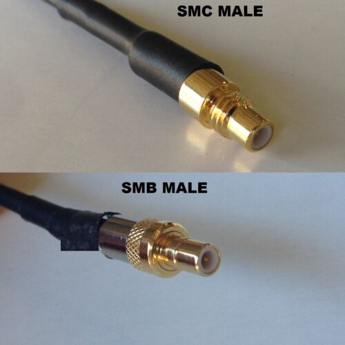 RG316 SMC MALE to SMB MALE Coaxial RF Cable USA-US