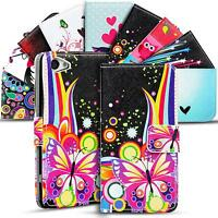 Handy Hülle für Sony Xperia Z1 Compact Flip Case Motiv Tasche Schutz Cover Etui