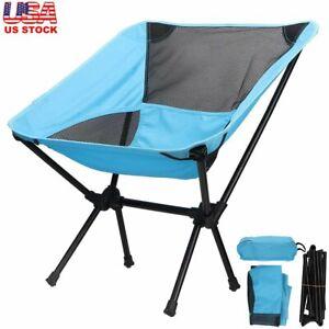 Portable Folding Chair Ultralight Oxford Fishing Camp Travel Beach Stool Seat