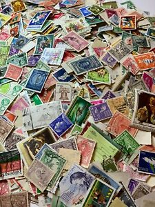 Worldwide Lot of 200+ Stamps Off Paper