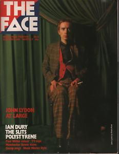 The Face UK Magazine December 1980 John Lydon Ian Dury 061520AME