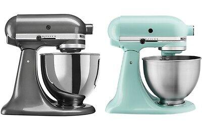 Kitchenaid Ksm3311x Artisan Mini Tilt Head Stand Mixer Aqua Sky Liquid Graphite Ebay
