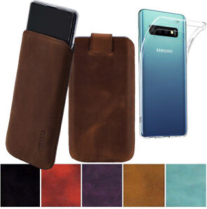 Samsung-Galaxy-S10-Plus-Case-Case-Pull-Back-Genuine-Leather-Case-Cover