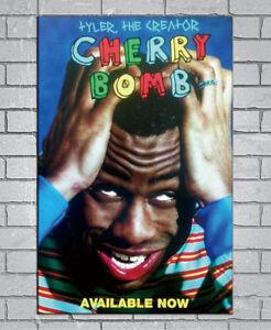 D-524 New Tyler the Creator Cherry Bomb Hip Hop Album 27x40IN fabric Art Poster