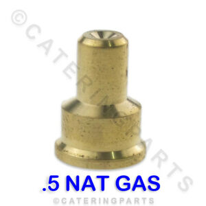 IN17 POLIDORO SIZE 0.5 NAT GAS PILOT JET INJECTOR .5mm ELECTROLUX WHIRLPOOL