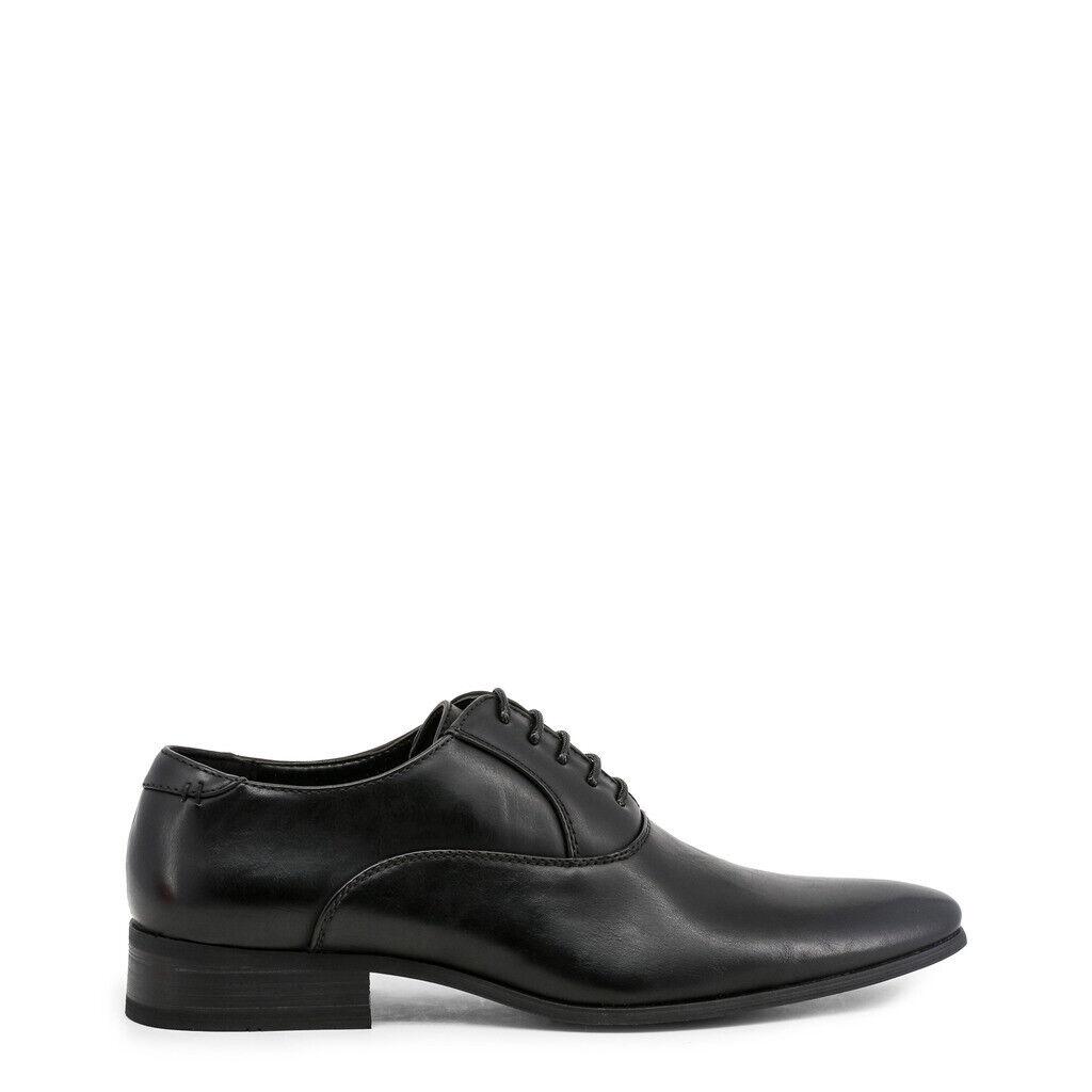 Ducca di Morrone mens lace up shoes black