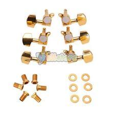New Parts Set of 6 Pcs Gold Acoustic Guitar Machine Heads Tuners 3L/3R