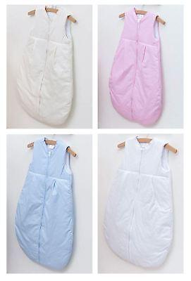 Ben Informato Baby Sacco A Pelo 6-18 Mesi Senza Maniche Ricamato Viaggio Zip Bag-pianura- Design Accattivanti;