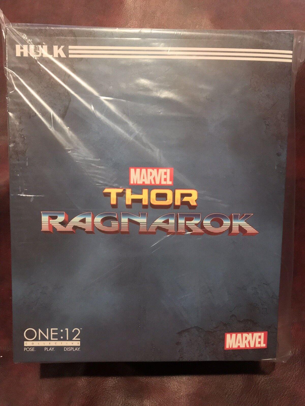 Mezco leksaker One 12 samlaive Thor Ragnarok Hulk Figur BRAND NY