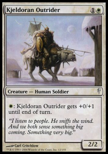 Kjeldoran Outrider x4 EX//NM Coldsnap MTG Magic Cards White Common