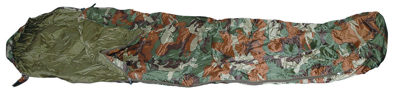 Army Sleeping Bag  Ultra-Lite Ranger US Army Woodland Camouflage Lightweight Camo Camouflage  high quality & fast shipping
