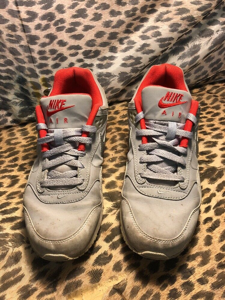 WOMENS NIKE AIR MAX Correlate Leather Gray 525381-001 SIZE 8.5 USAthletic Shoes Great discount