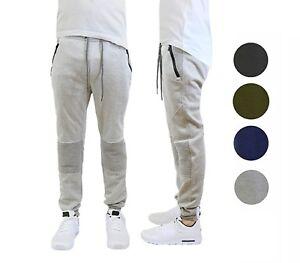 Mens Slim Fit Joggers Sweatpants Bottoms Warm Running Lounge S M L XL 2XL NWT
