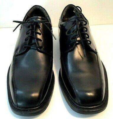 Nunn Bush Lace Up Dress Shoes Size 8 5w Mens Black Leather