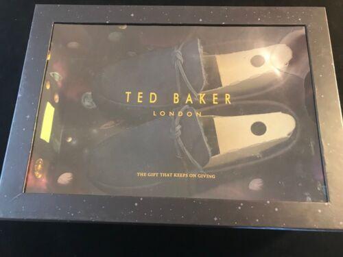 bleu fonc Pantoufles en Valcent Baker Bnib daim Ted xBv1SS