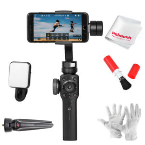 Zhiyun-Smooth-4-3-Axis-Smartphone-Gimbal-Stabilizer-Selfie-Light-Cleaning-Kit