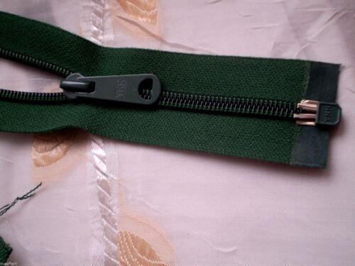 Reißverschluss DUNKELGRÜN teilbar Größe 5 OPTI Zipper Cremallera fermuar cipzár